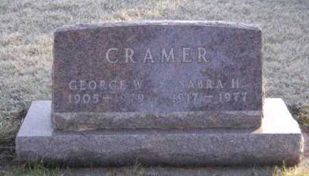 CRAMER, SABRA H - Moody County, South Dakota | SABRA H CRAMER - South Dakota Gravestone Photos