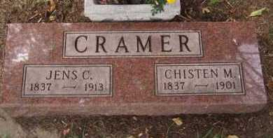 CRAMER, CHISTEN M - Moody County, South Dakota | CHISTEN M CRAMER - South Dakota Gravestone Photos