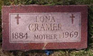 CRAMER, LONA - Moody County, South Dakota | LONA CRAMER - South Dakota Gravestone Photos