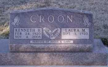 CROON, KENNETH H - Moody County, South Dakota | KENNETH H CROON - South Dakota Gravestone Photos