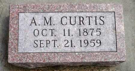 CURTIS, ALLEN MARVIN - Moody County, South Dakota   ALLEN MARVIN CURTIS - South Dakota Gravestone Photos