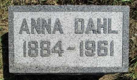 DAHL, ANNA - Moody County, South Dakota | ANNA DAHL - South Dakota Gravestone Photos