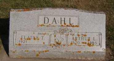 DAHL, ELAINE T - Moody County, South Dakota | ELAINE T DAHL - South Dakota Gravestone Photos