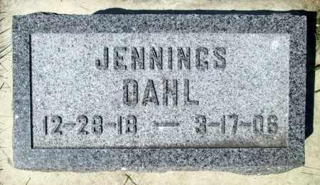 DAHL, JENNINGS - Moody County, South Dakota   JENNINGS DAHL - South Dakota Gravestone Photos