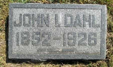 DAHL, JOHN I. - Moody County, South Dakota | JOHN I. DAHL - South Dakota Gravestone Photos