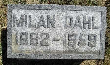 DAHL, MILAN RAY - Moody County, South Dakota | MILAN RAY DAHL - South Dakota Gravestone Photos