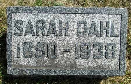 DAHL, SARAH - Moody County, South Dakota | SARAH DAHL - South Dakota Gravestone Photos