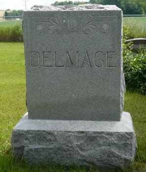 DELMAGE, GRACE F. - Moody County, South Dakota | GRACE F. DELMAGE - South Dakota Gravestone Photos
