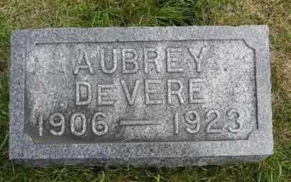 LEWIS, AUBREY DEVERE - Moody County, South Dakota | AUBREY DEVERE LEWIS - South Dakota Gravestone Photos
