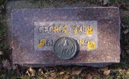 DODD, GEORGE - Moody County, South Dakota | GEORGE DODD - South Dakota Gravestone Photos
