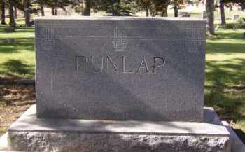 DUNLAP, FAMILY - Moody County, South Dakota | FAMILY DUNLAP - South Dakota Gravestone Photos