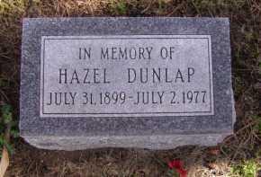 DUNLAP, HAZEL - Moody County, South Dakota | HAZEL DUNLAP - South Dakota Gravestone Photos
