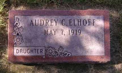 ELHOFF, AUDREY C - Moody County, South Dakota | AUDREY C ELHOFF - South Dakota Gravestone Photos