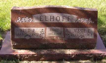 ELHOFF, FRED P - Moody County, South Dakota   FRED P ELHOFF - South Dakota Gravestone Photos