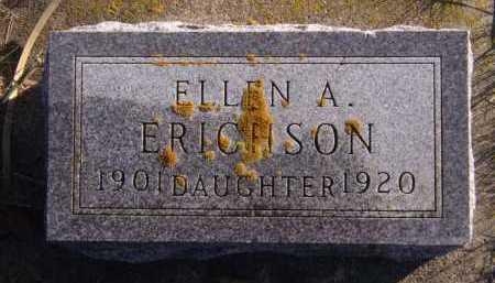 ERICHSON, ELLEN A - Moody County, South Dakota | ELLEN A ERICHSON - South Dakota Gravestone Photos
