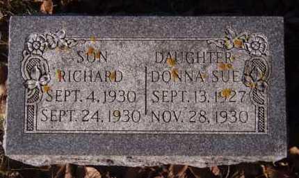 ERICHSON, DONNA SUE - Moody County, South Dakota   DONNA SUE ERICHSON - South Dakota Gravestone Photos