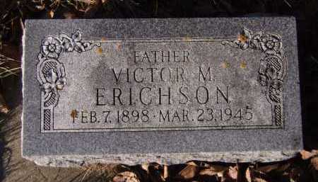 ERICHSON, VICTOR M - Moody County, South Dakota | VICTOR M ERICHSON - South Dakota Gravestone Photos
