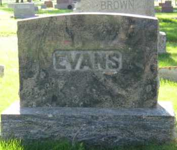EVANS, FAMILY - Moody County, South Dakota | FAMILY EVANS - South Dakota Gravestone Photos
