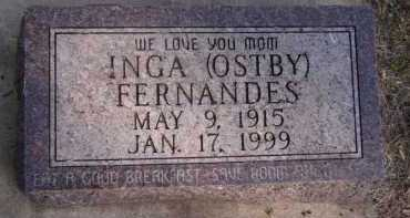 FERNANDES, INGA - Moody County, South Dakota | INGA FERNANDES - South Dakota Gravestone Photos