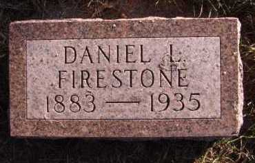 FIRESTONE, DANIEL L - Moody County, South Dakota | DANIEL L FIRESTONE - South Dakota Gravestone Photos
