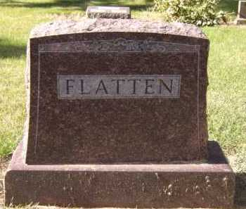 FLATTEN, FAMILY - Moody County, South Dakota | FAMILY FLATTEN - South Dakota Gravestone Photos