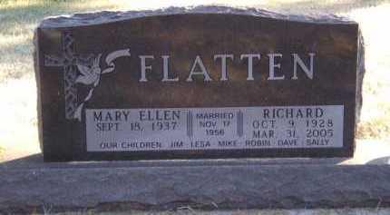 FLATTEN, RICHARD - Moody County, South Dakota | RICHARD FLATTEN - South Dakota Gravestone Photos
