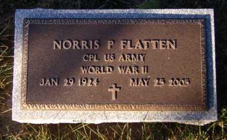 FLATTEN, NORRIS P - Moody County, South Dakota | NORRIS P FLATTEN - South Dakota Gravestone Photos