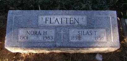 FLATTEN, NORA H - Moody County, South Dakota   NORA H FLATTEN - South Dakota Gravestone Photos