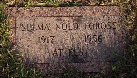FOROSS, SELMA - Moody County, South Dakota | SELMA FOROSS - South Dakota Gravestone Photos