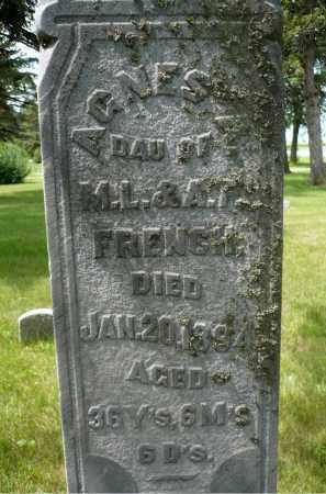 FRENCH, AGNES A. - Moody County, South Dakota | AGNES A. FRENCH - South Dakota Gravestone Photos