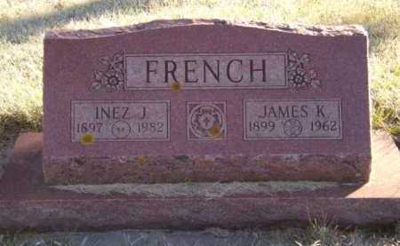 FRENCH, INEZ J - Moody County, South Dakota | INEZ J FRENCH - South Dakota Gravestone Photos