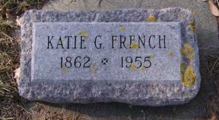 FRENCH, KATIE G. - Moody County, South Dakota | KATIE G. FRENCH - South Dakota Gravestone Photos