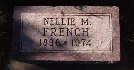 FRENCH, NELLIE M. - Moody County, South Dakota | NELLIE M. FRENCH - South Dakota Gravestone Photos