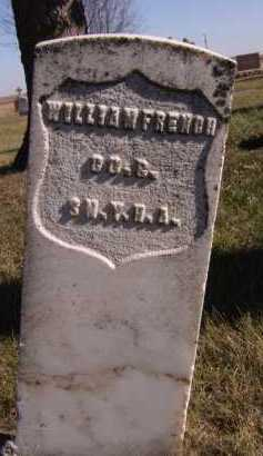 FRENCH, WILLIAM (MILITARY) - Moody County, South Dakota | WILLIAM (MILITARY) FRENCH - South Dakota Gravestone Photos