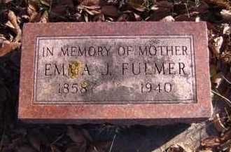 FULMER, EMMA J. - Moody County, South Dakota | EMMA J. FULMER - South Dakota Gravestone Photos