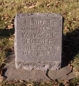 FULMER, FLORA E - Moody County, South Dakota | FLORA E FULMER - South Dakota Gravestone Photos