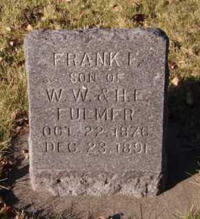 FULMER, FRANK I - Moody County, South Dakota   FRANK I FULMER - South Dakota Gravestone Photos