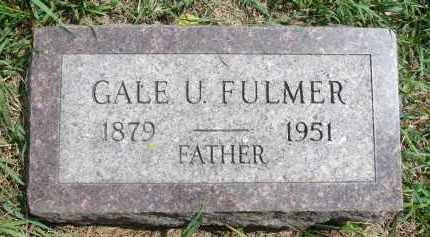 FULMER, GALE U. - Moody County, South Dakota | GALE U. FULMER - South Dakota Gravestone Photos