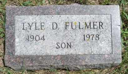 FULMER, LYLE D. - Moody County, South Dakota   LYLE D. FULMER - South Dakota Gravestone Photos