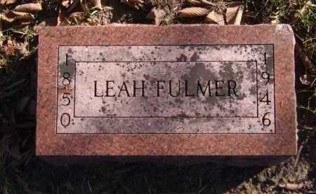 FULMER, LEAH ALVIRA - Moody County, South Dakota | LEAH ALVIRA FULMER - South Dakota Gravestone Photos