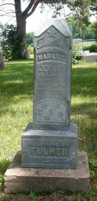 FULMER, MABLE E. - Moody County, South Dakota   MABLE E. FULMER - South Dakota Gravestone Photos