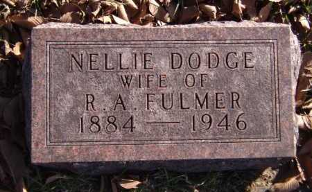 FULMER, NELLIE - Moody County, South Dakota | NELLIE FULMER - South Dakota Gravestone Photos