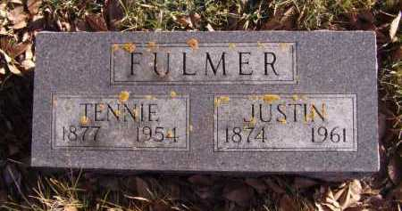 FULMER, TENNIE - Moody County, South Dakota | TENNIE FULMER - South Dakota Gravestone Photos