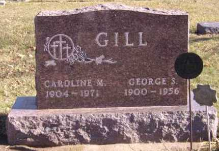 GILL, CAROLINE M - Moody County, South Dakota | CAROLINE M GILL - South Dakota Gravestone Photos