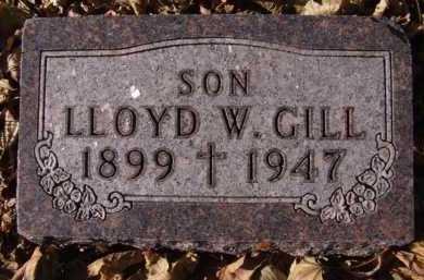 GILL, LLOYD W - Moody County, South Dakota | LLOYD W GILL - South Dakota Gravestone Photos