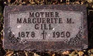 GILL, MARGUERITE M - Moody County, South Dakota   MARGUERITE M GILL - South Dakota Gravestone Photos