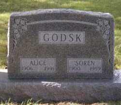 GODSK, ALICE - Moody County, South Dakota | ALICE GODSK - South Dakota Gravestone Photos