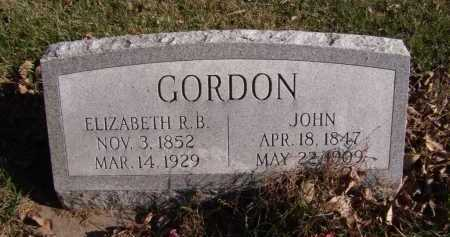 GORDON, JOHN - Moody County, South Dakota | JOHN GORDON - South Dakota Gravestone Photos
