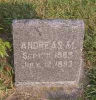 LEE, ANDREAS M - Moody County, South Dakota | ANDREAS M LEE - South Dakota Gravestone Photos