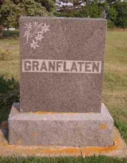 GRANFLATEN, FAMILY - Moody County, South Dakota | FAMILY GRANFLATEN - South Dakota Gravestone Photos